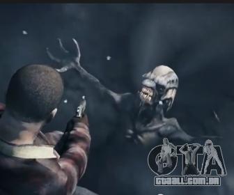 um alienígena no gelo no GTA 5