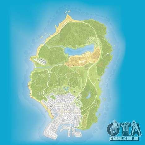 Atlas e mapa de Grand Theft Auto 5