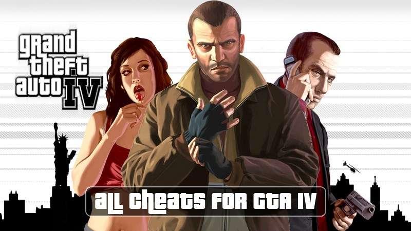 Códigos para GTA 4