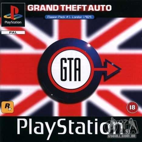 a Máquina do tempo: o lançamento de GTA London 1969 para Playstation