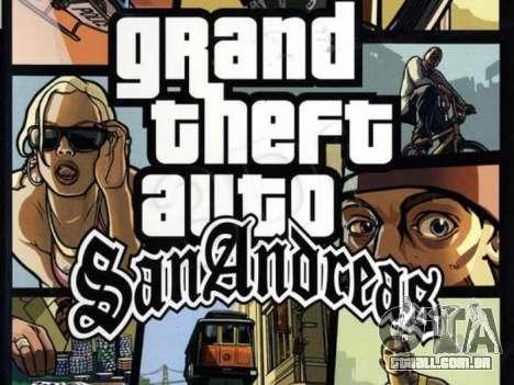 Europeus lançamentos: GTA SA para PC
