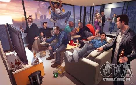 Conjunto de jogadores no comando de GTA Online