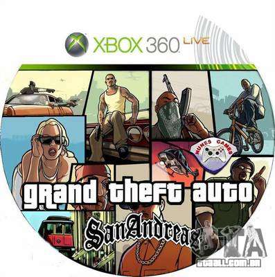Lançamento do GTA SA para Xbox na Europa e na Austrália