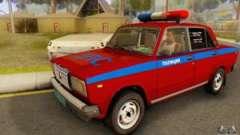 2107 VAZ Polícia para GTA San Andreas