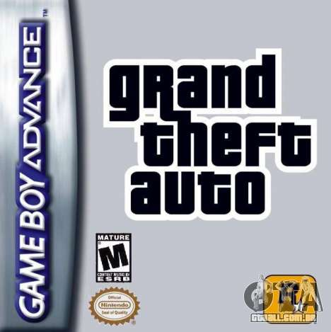 o Lançamento de GTA Advance, Game Boy Advance