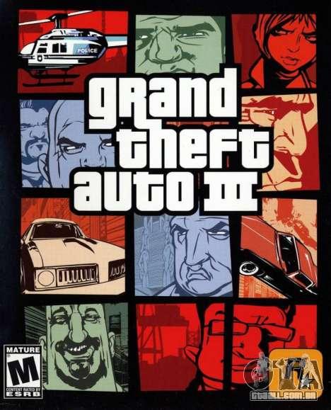 13 anos a partir da data de lançamento de GTA 3 PS na Europa