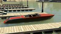 Pegassi Speeder do GTA 5 - vista lateral