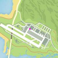 Карта где найти вертолёт Buzzard в GTA 5