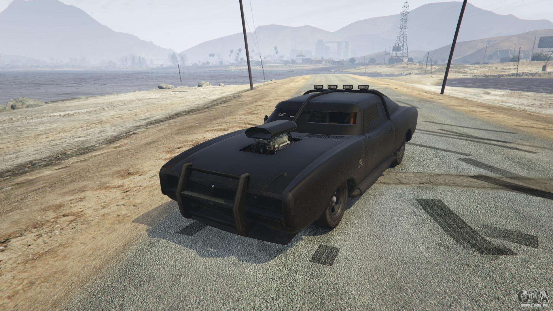 Duke O'Death do GTA 5 - vista frontal