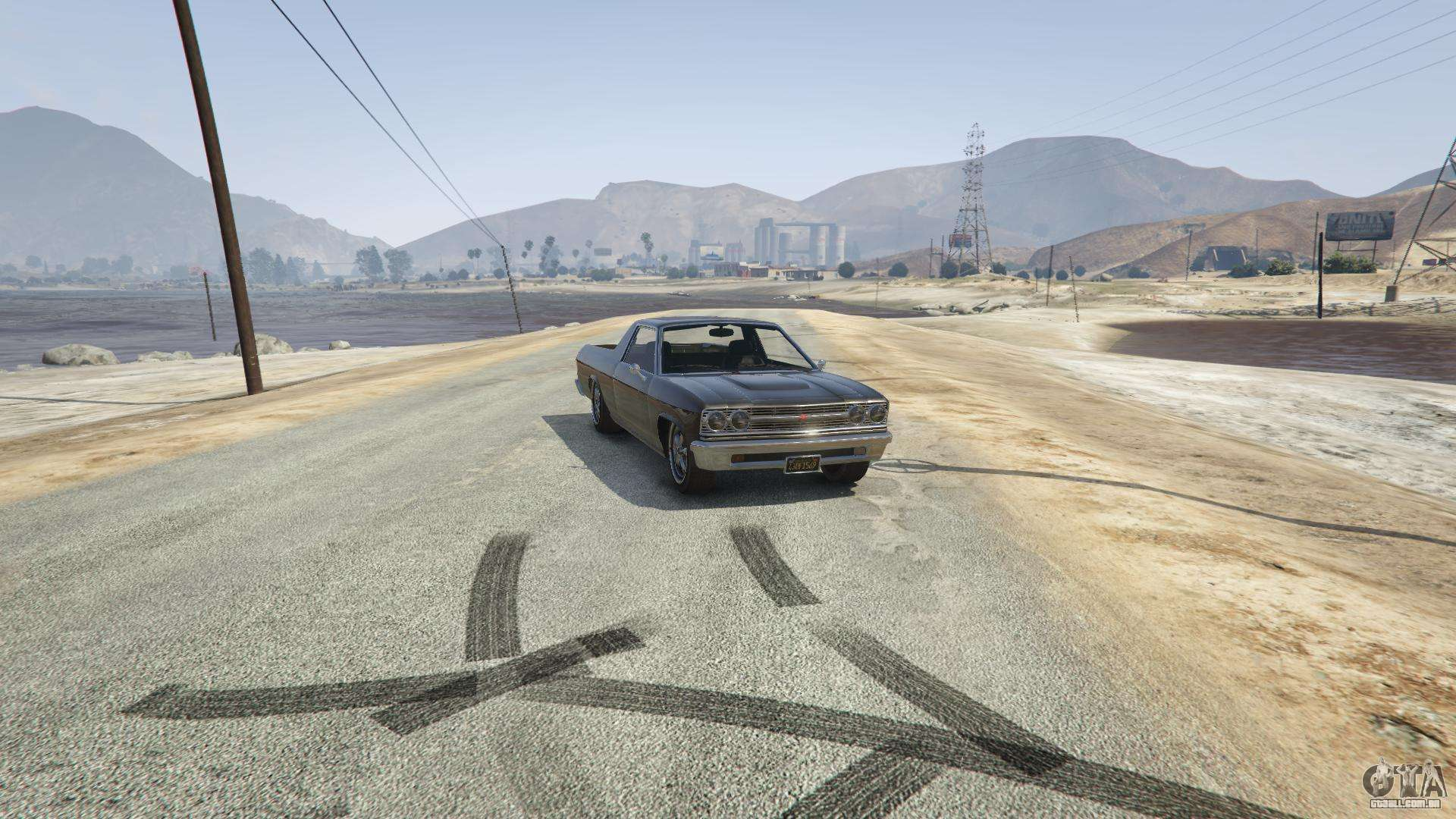 Picador de GTA 5 - vista frontal
