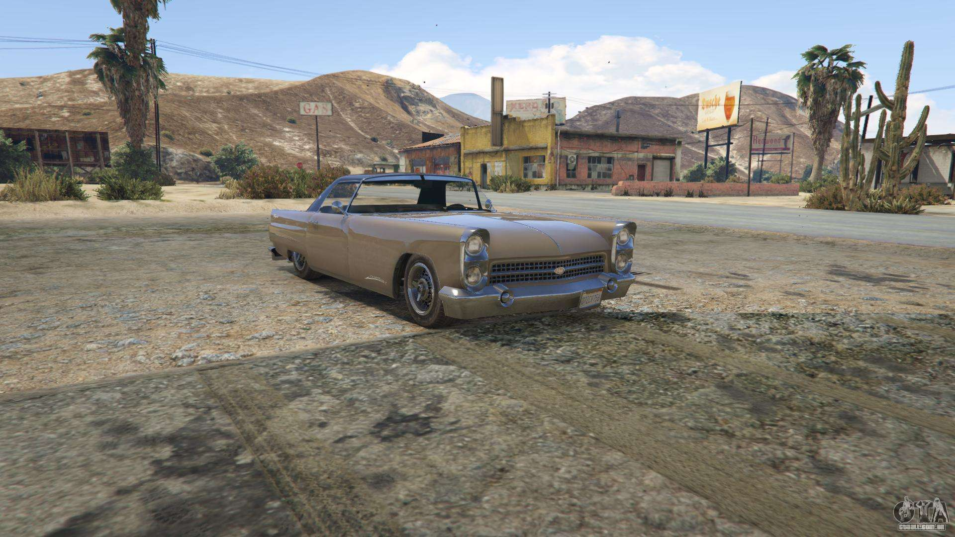 GTA 5 Vapid Peyote - Frontansicht