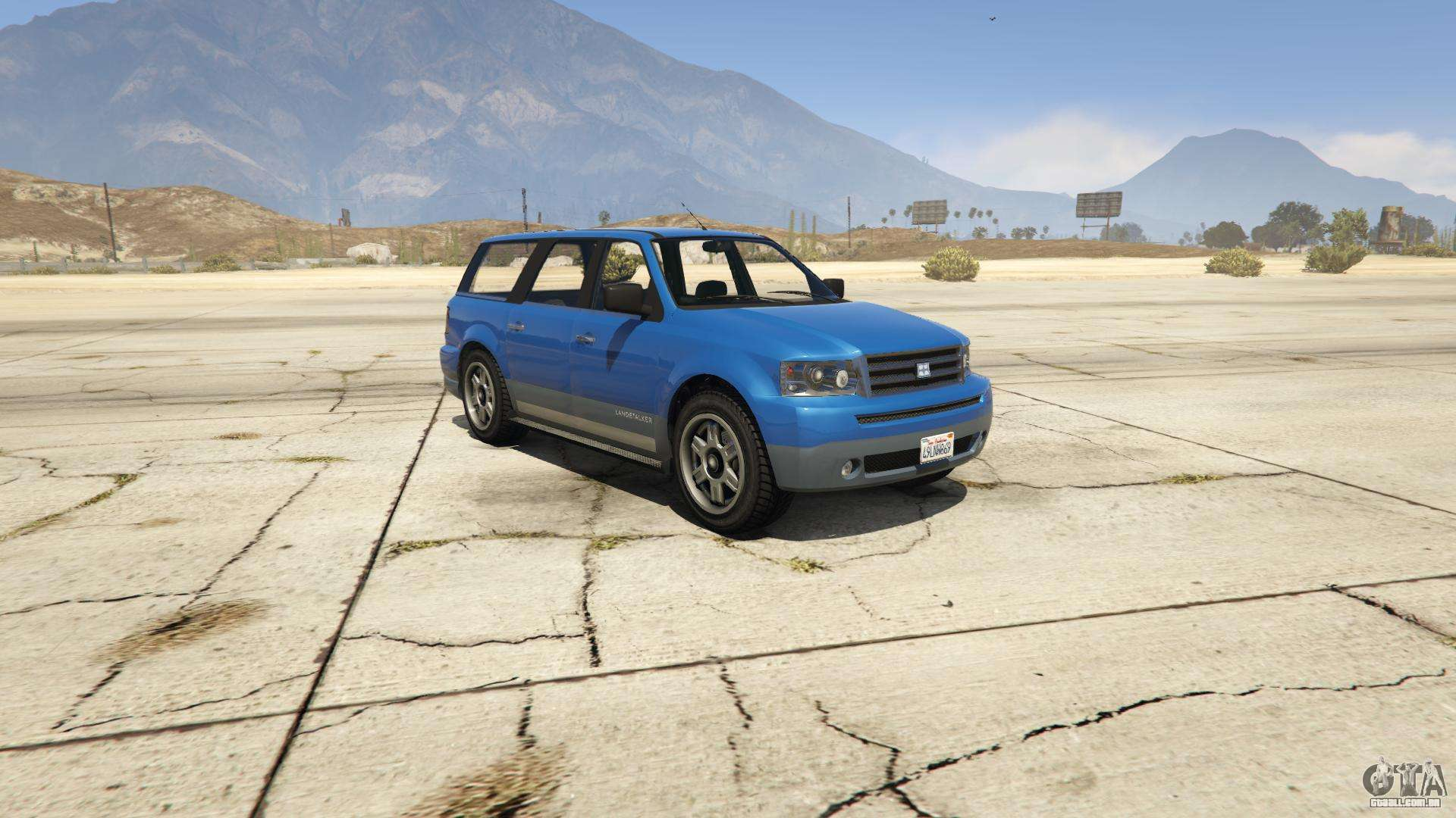 GTA 5 Dundreary Landstalker - vista frontal