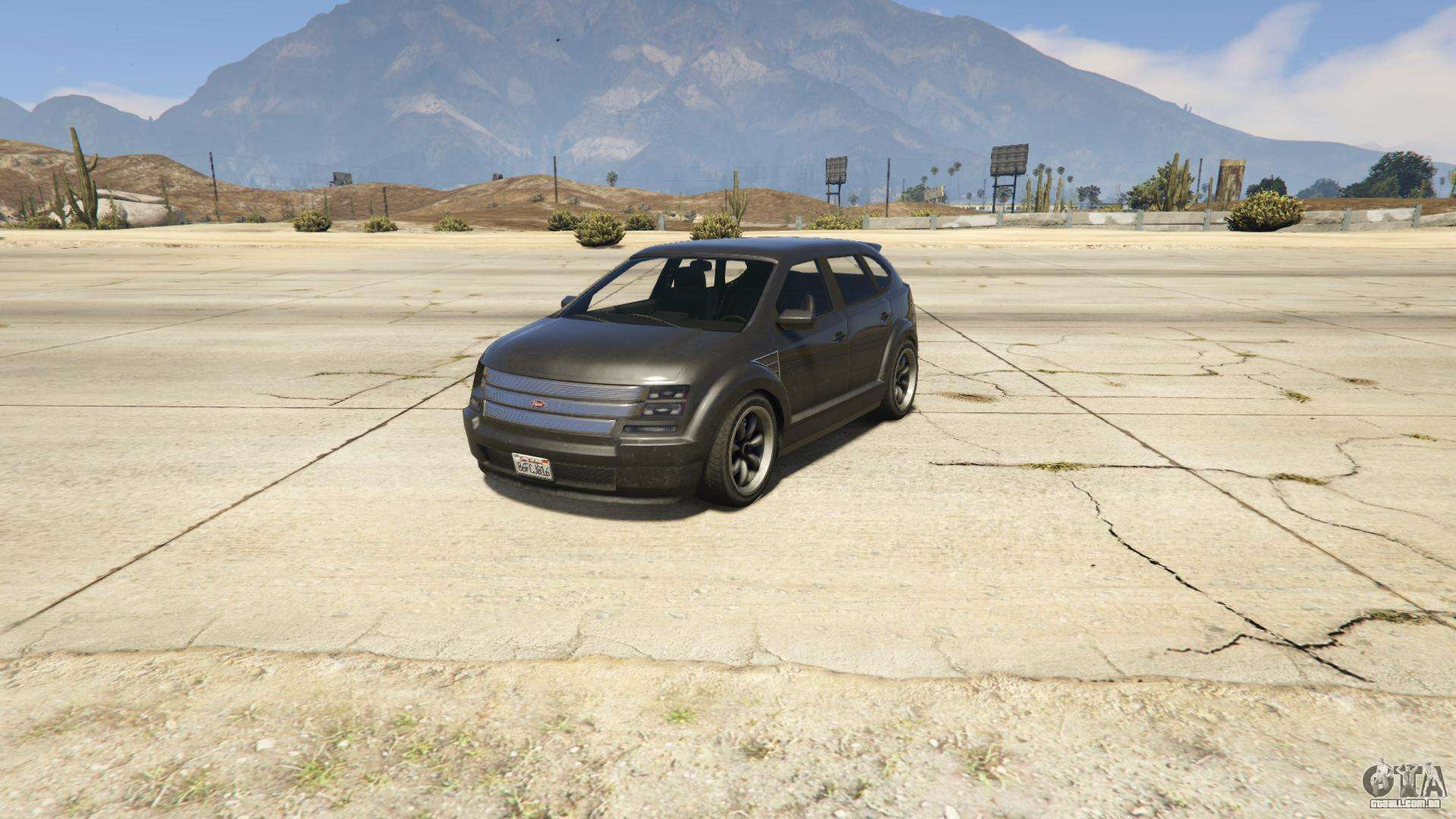 Vapid Radius de GTA 5 - vista frontal