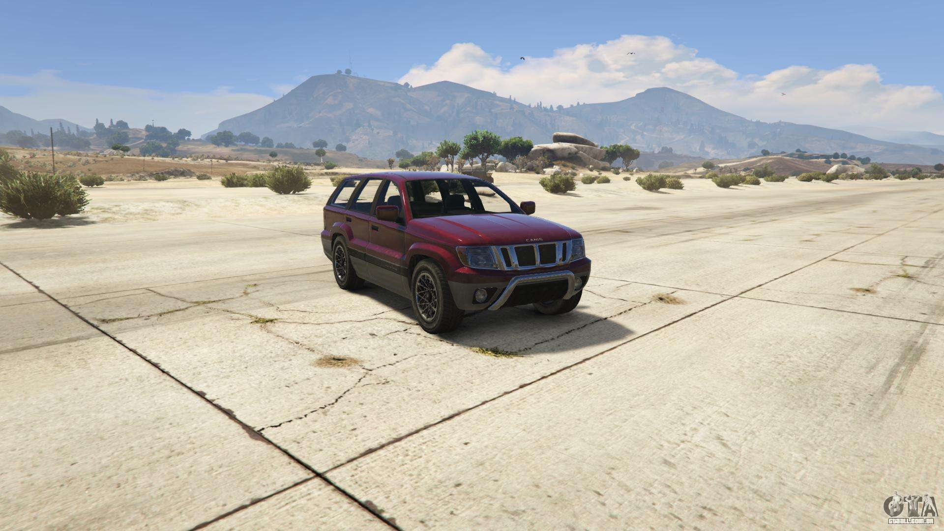 GTA 5 Canis Seminole - vista frontal