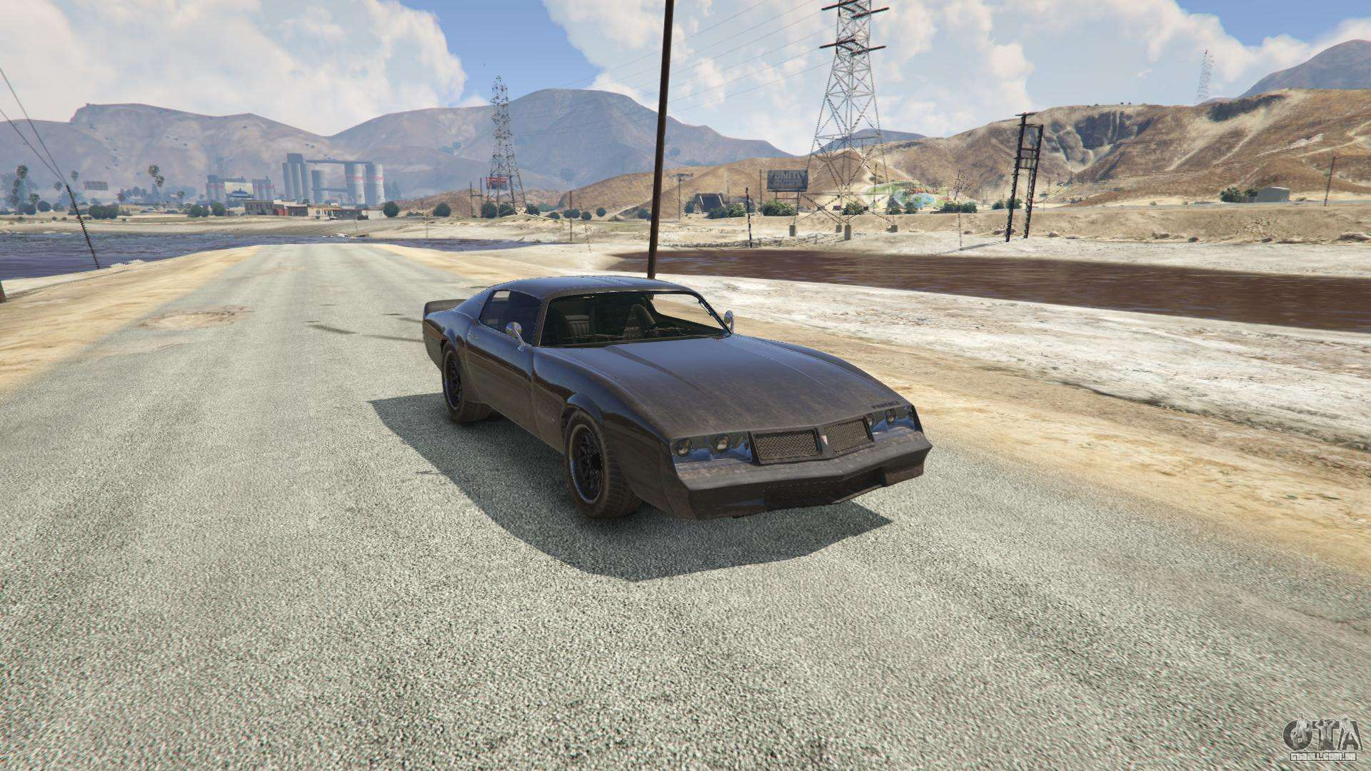 Phoenix do GTA 5 - vista frontal
