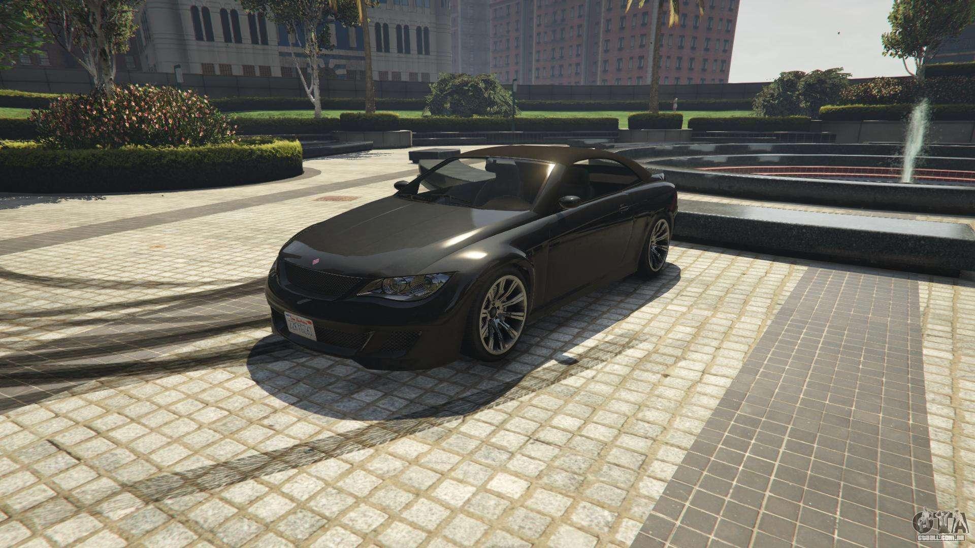 Ubermacht Sião Cabrio do GTA 5 - vista frontal