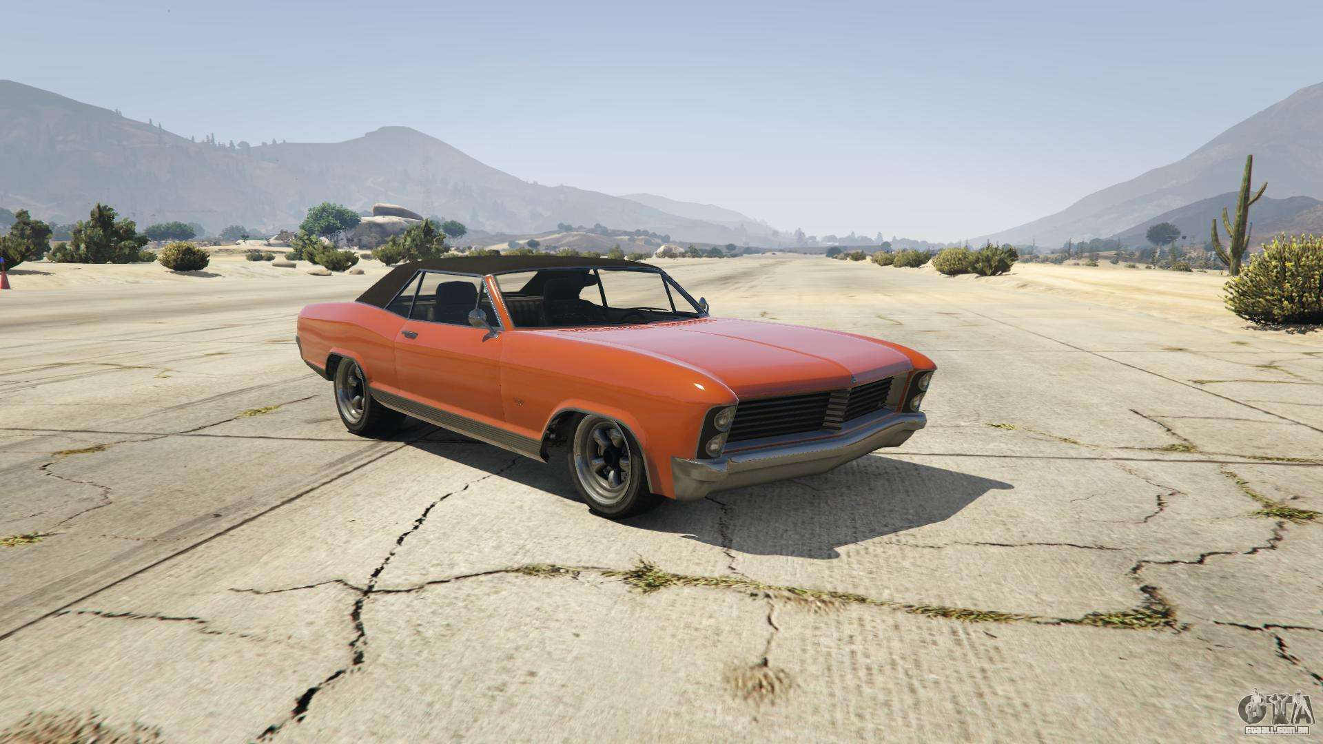 Albany Buccaneer GTA 5 - vista frontal