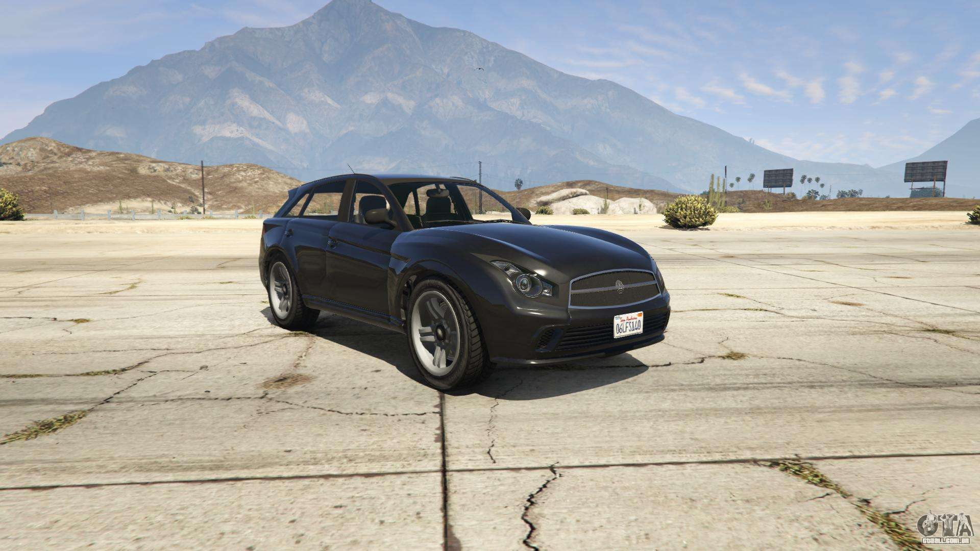 Fathom FQ 2 de GTA 5 - vista frontal