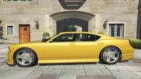 Bravado Buffalo GTA 5 - posterior view