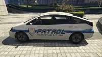 GTA 5 Karin diletante com merriweather de la patrul - view -
