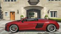 Obey 9F Cabrio GTA 5 - vista lateral