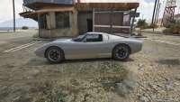 Pegassi Monroe GTA 5 - vista lateral