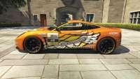 Dewbauchee Massacro Racecar do GTA 5 - vista lateral