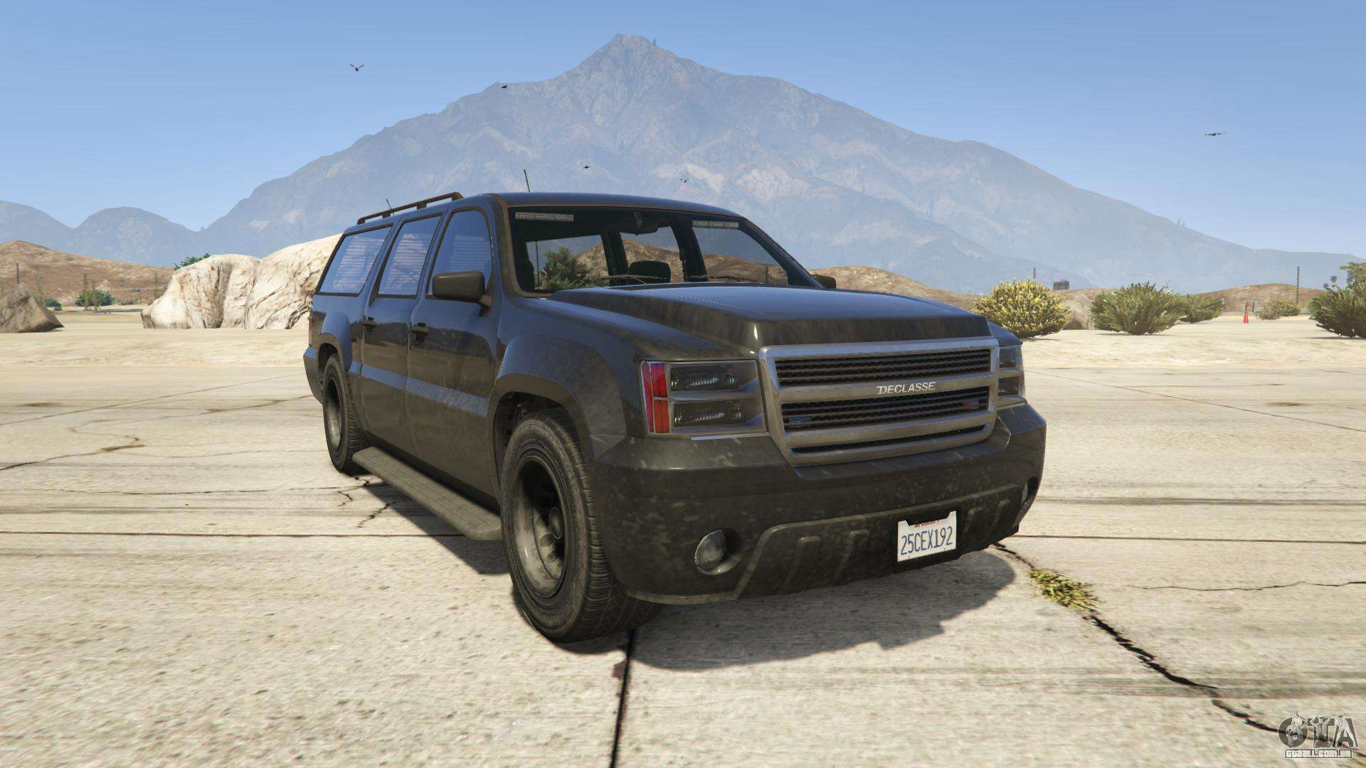 GTA 5 Declasse FIB - vista frontal