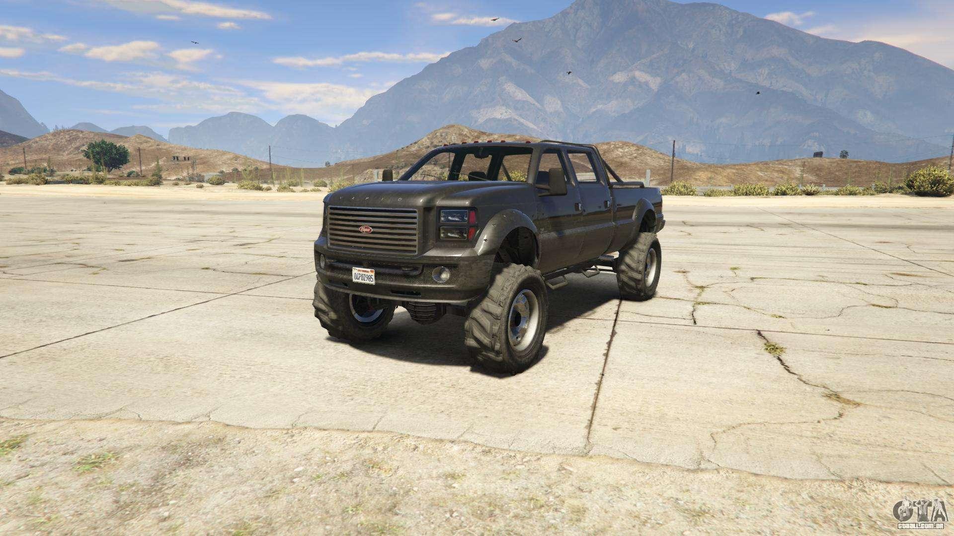 GTA 5 Vapid Sandking XL - vista frontal
