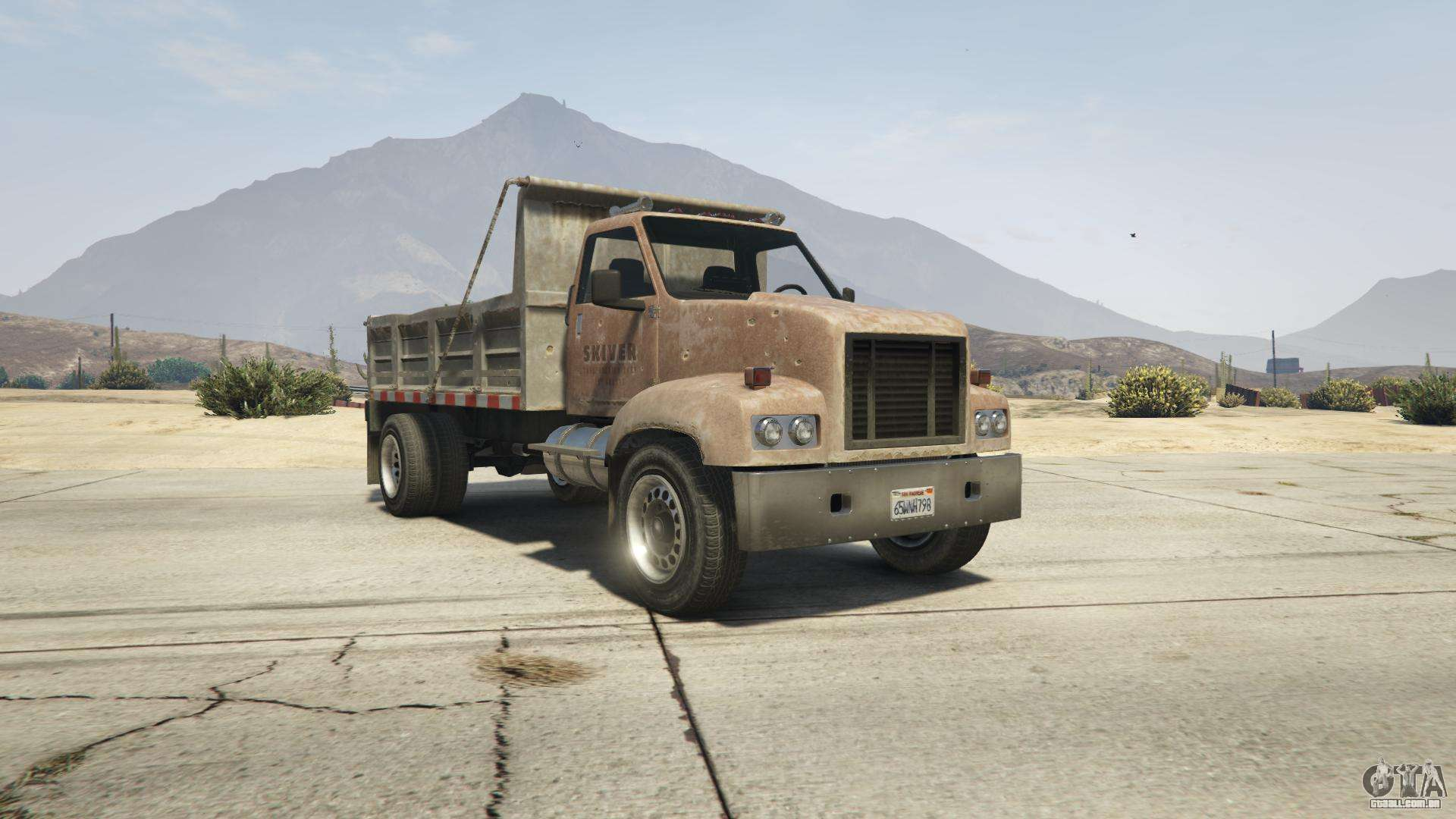 GTA 5 Brute Tipper-1-st-gen. - vista frontal
