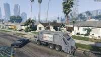 Lixo Caminhão - roubar o caminhão de lixo