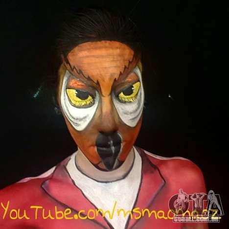 Coruja Máscara
