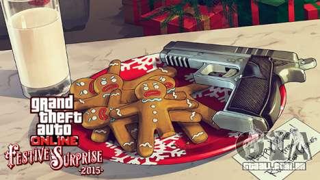 Festivo bônus em GTA Online