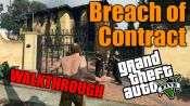 GTA 5 Solo Jugador Tutorial - por Incumplimiento de Contrato