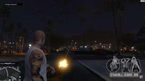 Não há policiais em GTA Online!