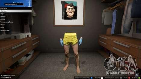 Invisível tronco e braços em GTA Online