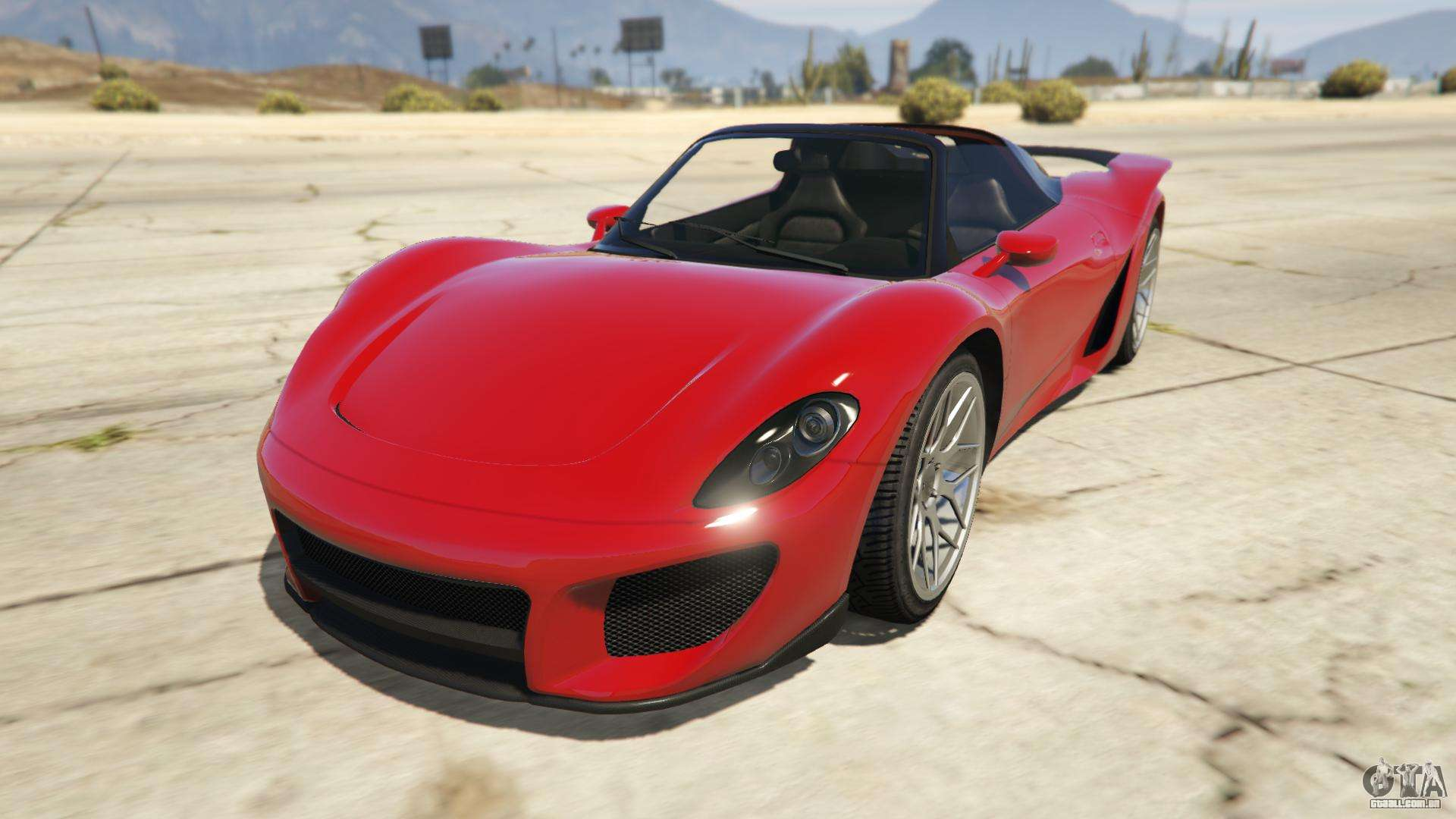 Pfister 811 de GTA Online - vista frontal