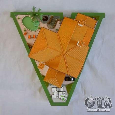 GTA V, que Michael Mansao por Arianm007 - vista superior