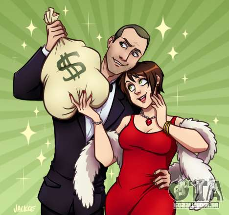 Dinheiro e Amor por Jackce-Arte