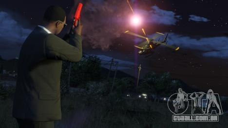 A extração em GTA Online