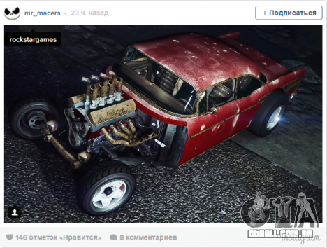 Rat Rod pt GTA Online