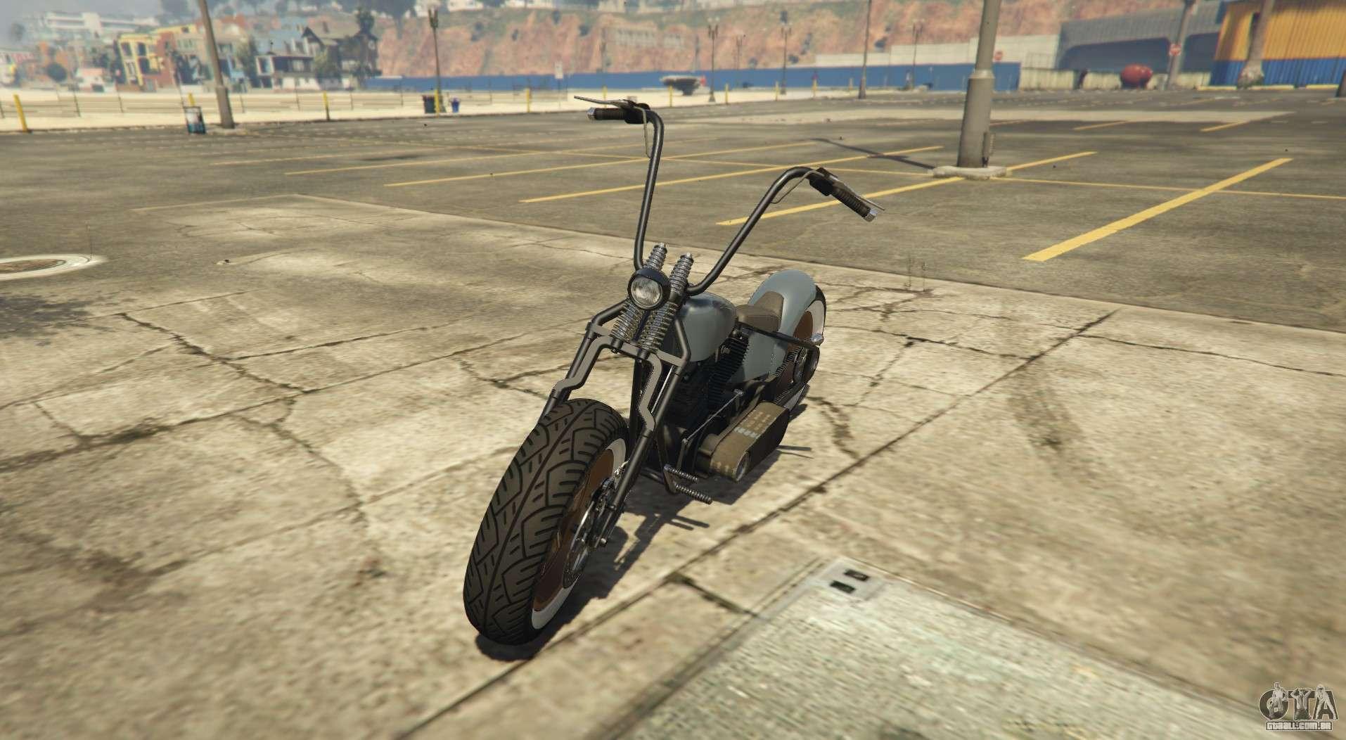 Western Zombie Bobber - bobber variação do Zombie Chopper