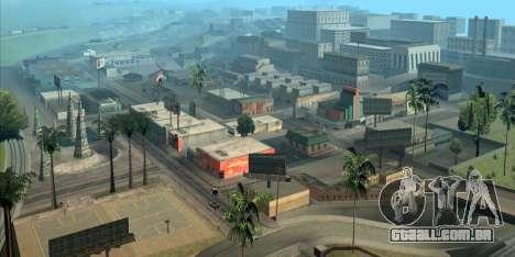 GTA San Andreas ajuda-o a orientar-se em Los Angeles