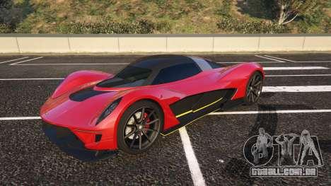 Wagner Dewbauchee GTA 5 ver pela frente