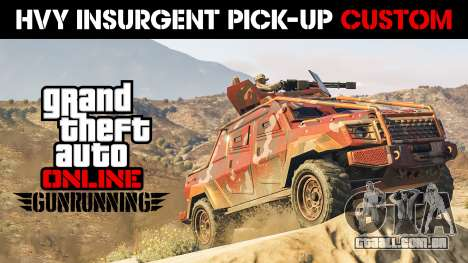 HVY Insurgent Pick-Up Personalizado für GTA 5