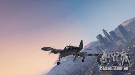 O avião no GTA online
