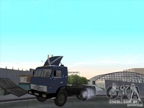 KAMAZ 54115 para GTA San Andreas esquerda vista