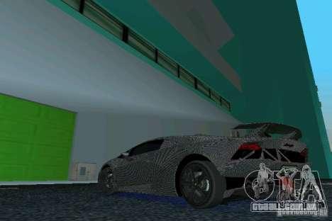 Lamborghini Sesto Elemento para GTA Vice City deixou vista