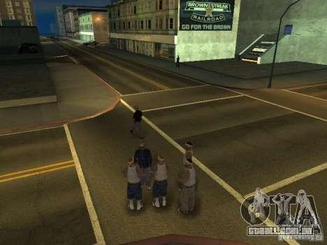 Câmera em movimento livre para GTA San Andreas segunda tela