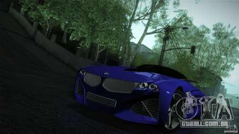 BMW Vision Connected Drive Concept para GTA San Andreas vista superior